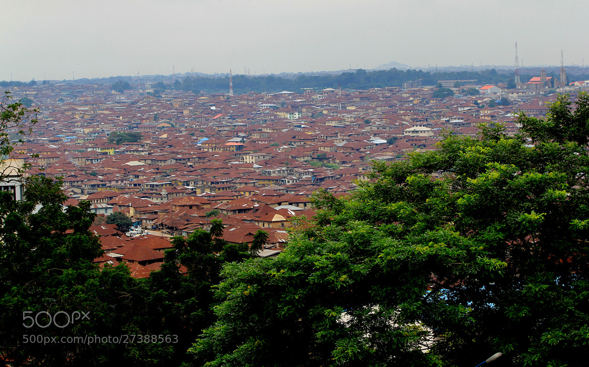 Photograph A Landscape of Ibadan by Franklin Israel on 500px