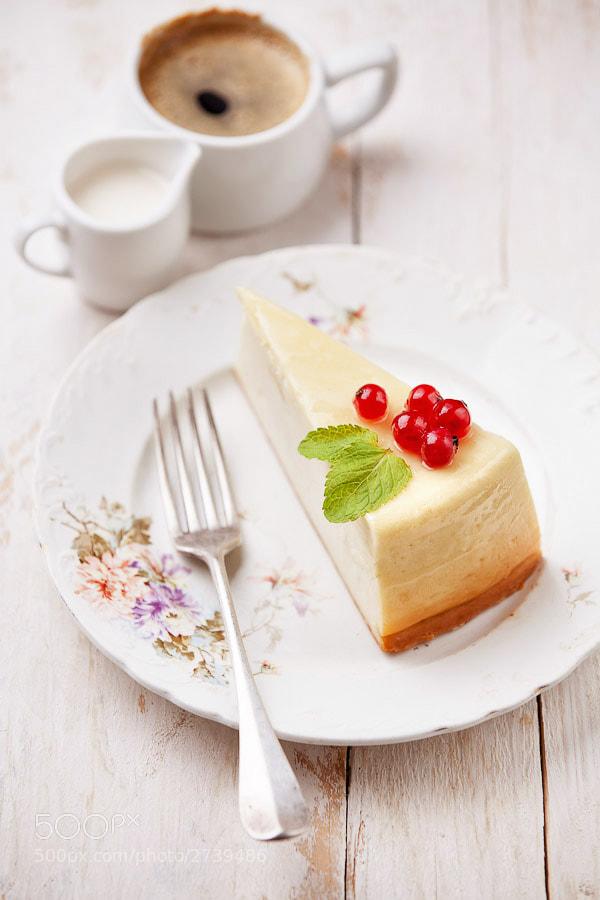 Photograph Cheesecake Classic by Natalia Lisovskaya on 500px