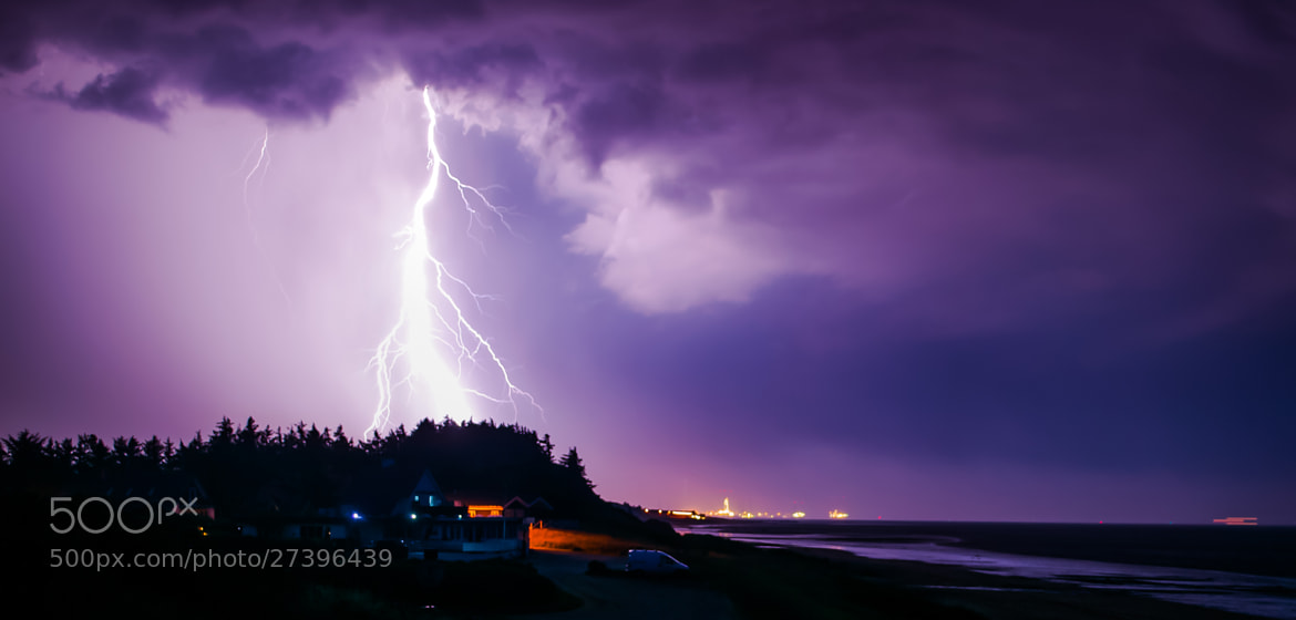 Photograph Thundering out of nothing by Elias Settevik on 500px