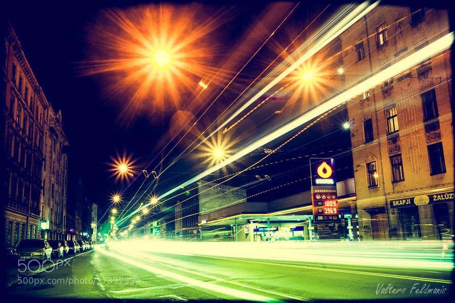 Photograph Street flow by Valters Feldmanis on 500px