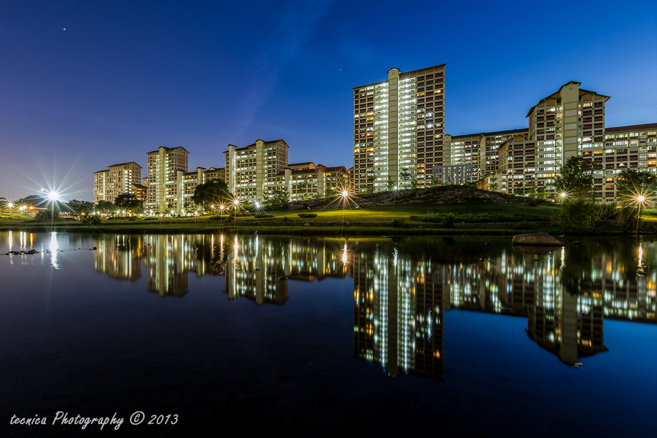 Photograph Bishan Reflected by t e c n i c a on 500px