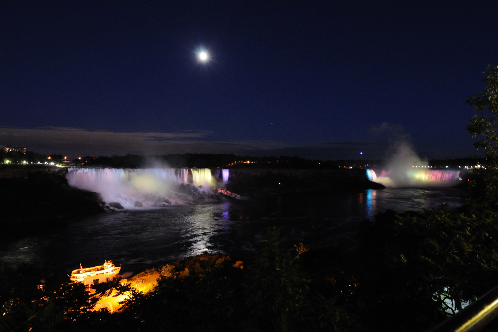 Photograph Niagara Falls by night by Alessandro Crea on 500px