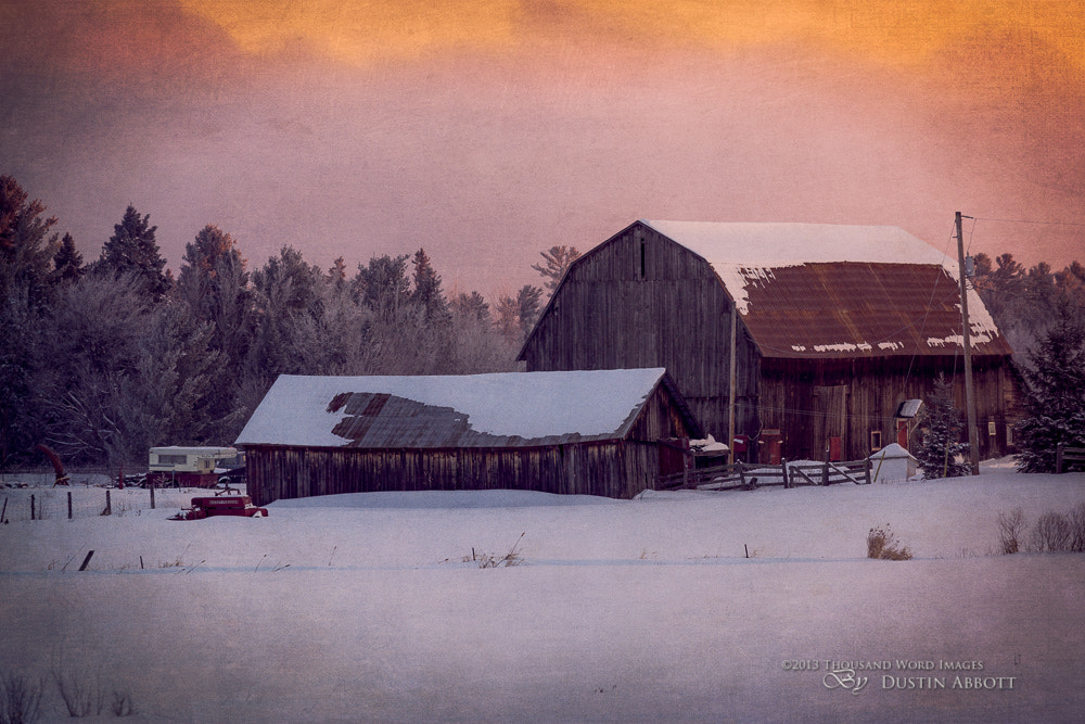 Photograph Dawn at the Barn by Dustin Abbott on 500px