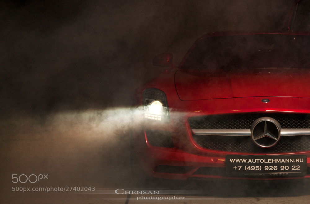 Photograph SLS 63 AMG . by Chensan  by  Chensan on 500px