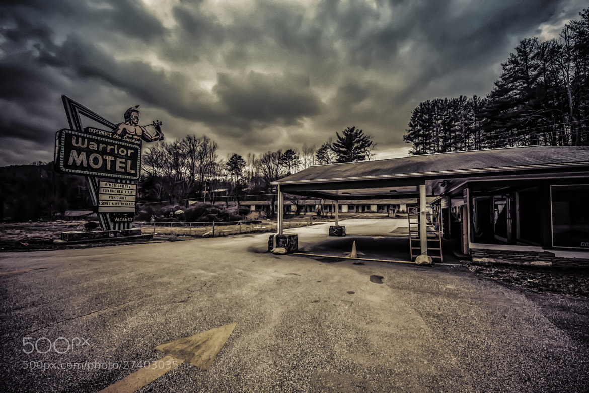 Photograph Warrior Motel by Todd Leckie on 500px