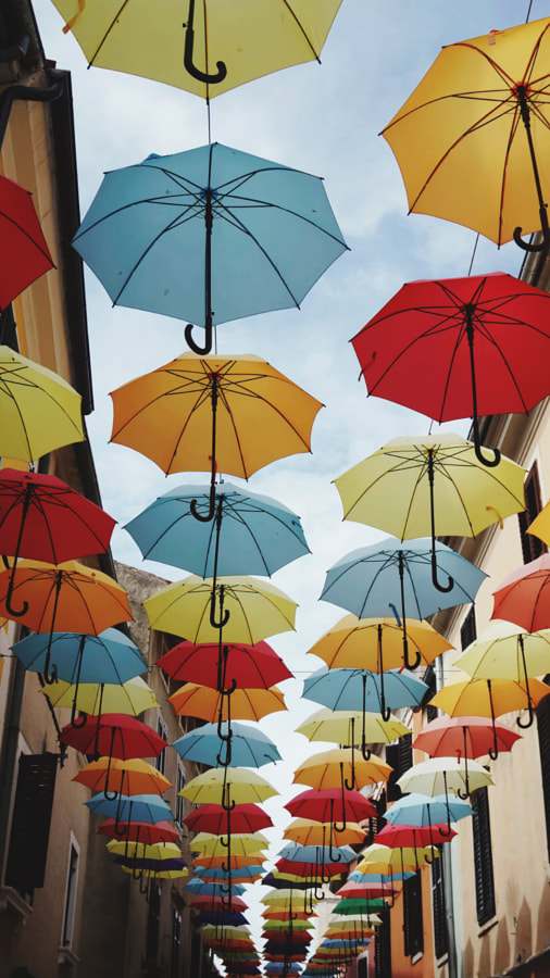 Umbrellas ?? by Christoph Karg on 500px.com