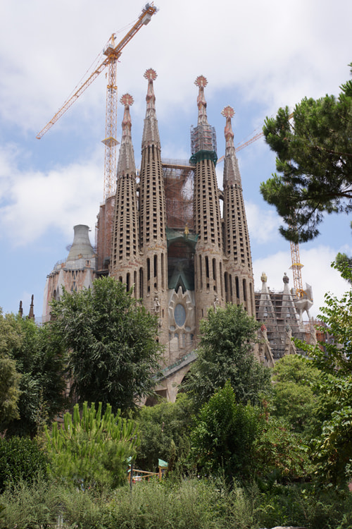 Photograph Sagrada Familia by Andew Osterberg on 500px