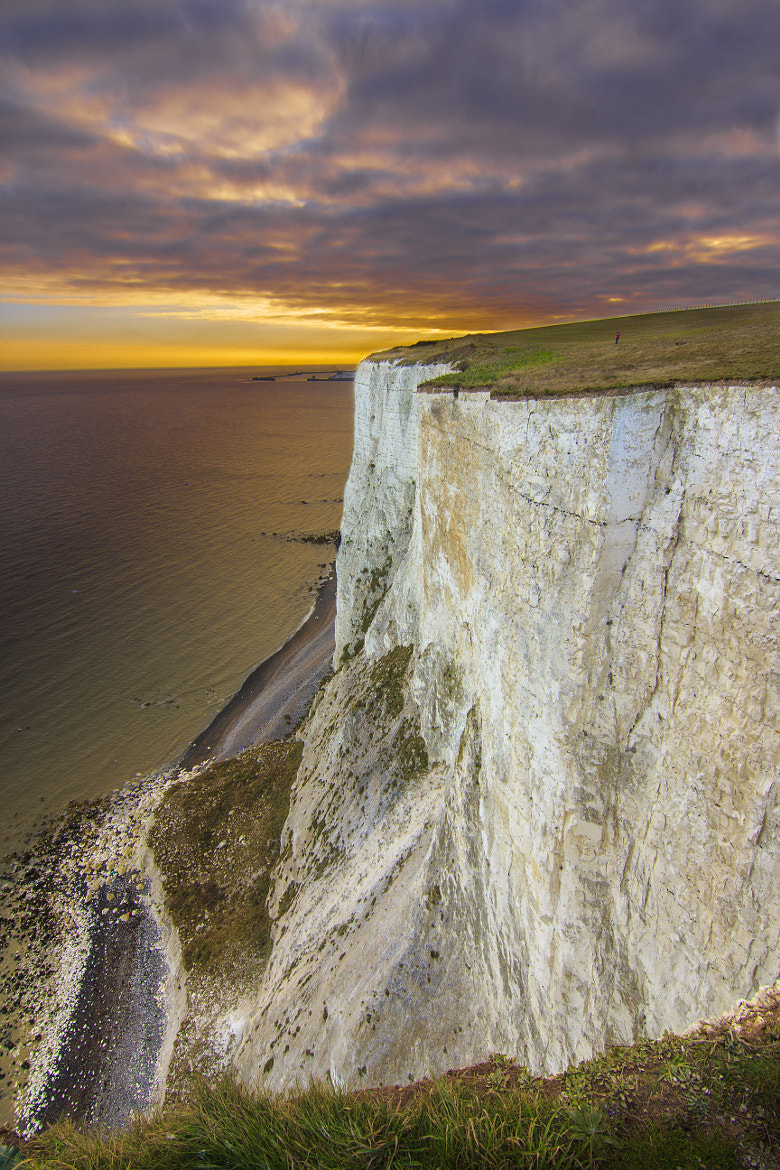 Photograph Burning the White Cliffs by Nick Pandev on 500px
