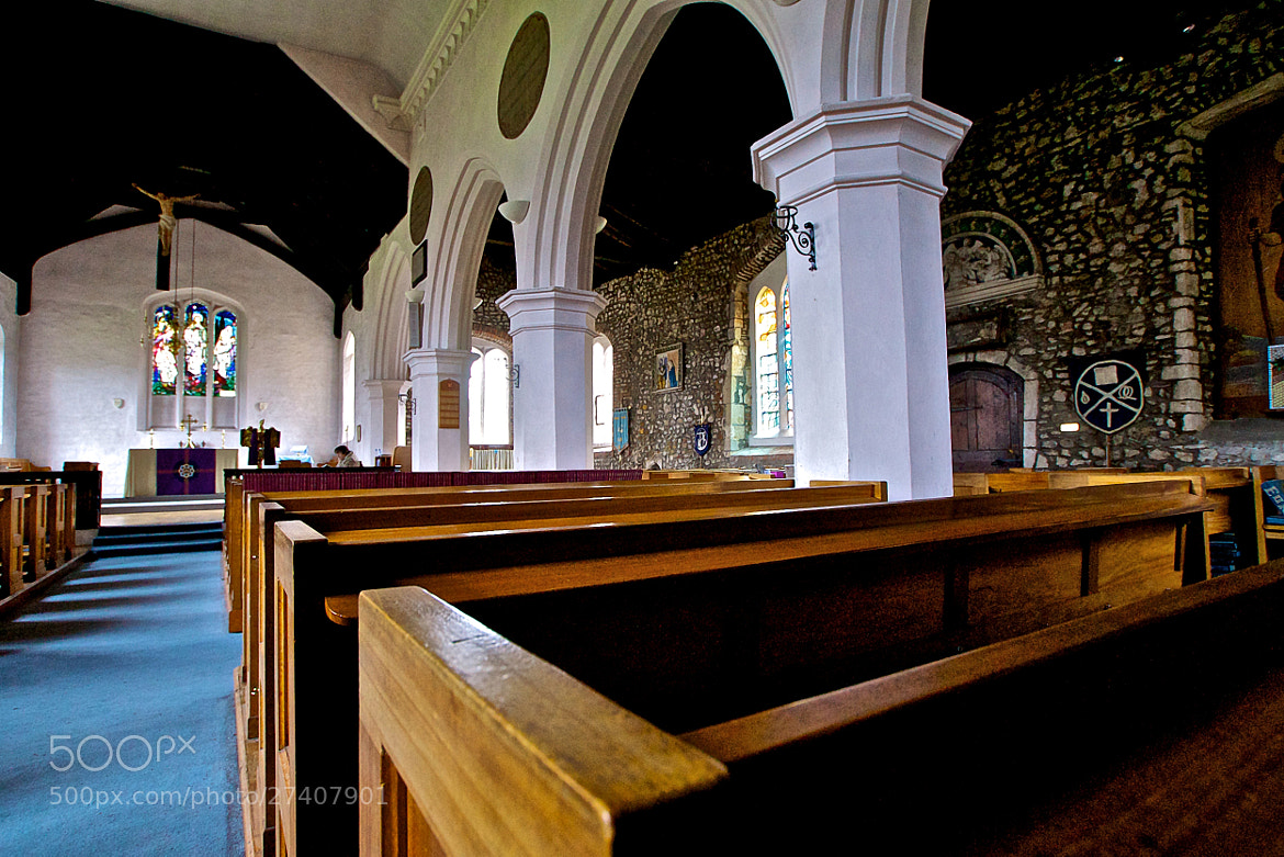 Photograph Mersea Island Church Interior by Steve Lewis  on 500px