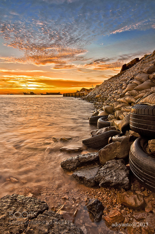 Photograph Tyre and Stone by Adi Syafiq on 500px