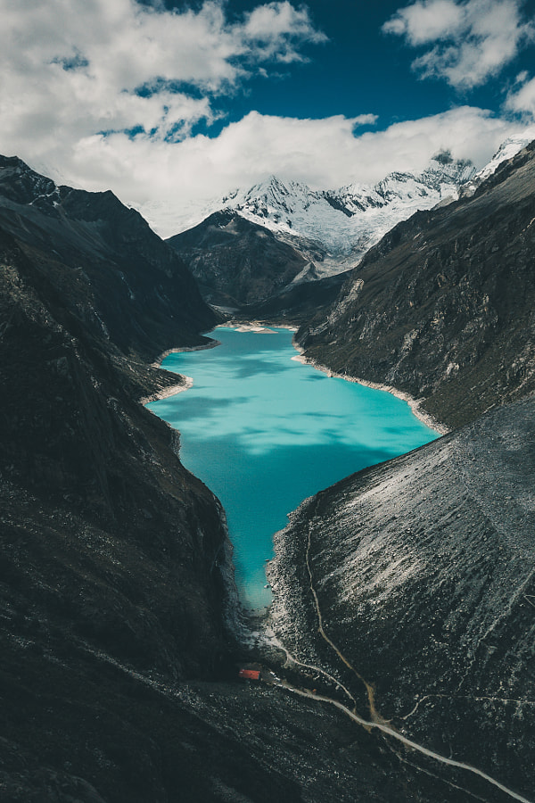 Lake Parón nestled deep in the Cordillera Blanca by Ueli Frischknecht on 500px.com