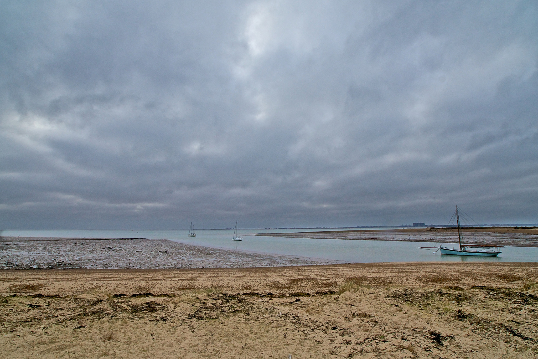 Photograph Overcast Estuary by Steve Lewis  on 500px