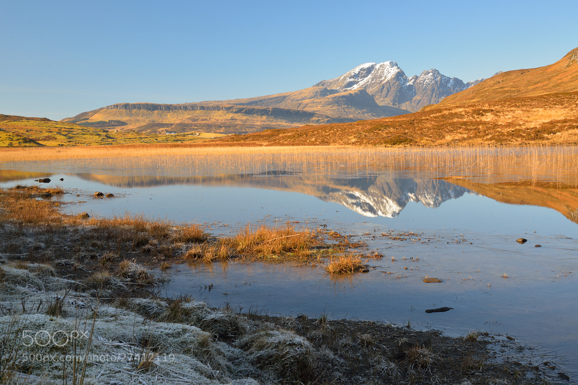 Photograph Blaven from Loch Cill Chriosd by Jon Sketchley on 500px