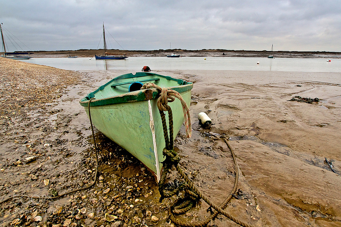 Photograph Moored In The Mud by Steve Lewis  on 500px