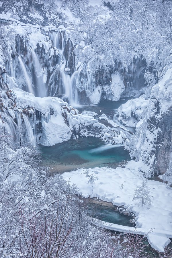 Photograph Plitvice Winter by Andreas Resch on 500px