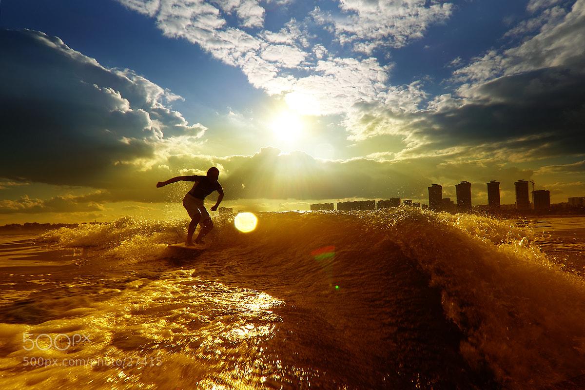 Photograph Sunsurfer by Sergey Smolenko on 500px