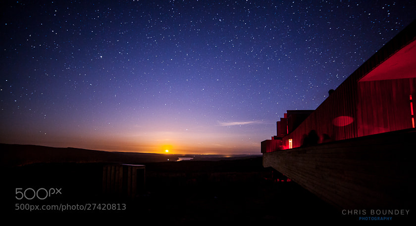 Photograph Moonrise over Kielder by Chris Boundey on 500px