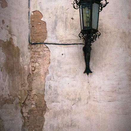 Wall and Lamp
