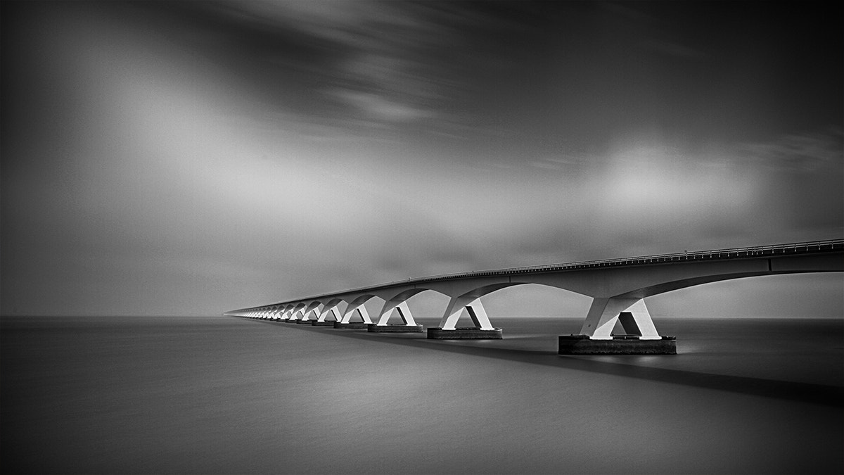 Photograph Zeeland bridge Holland by Kees Smans on 500px