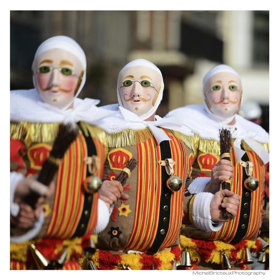 Photograph Carnival of Binche, Belgium by Michel Bricteux on 500px
