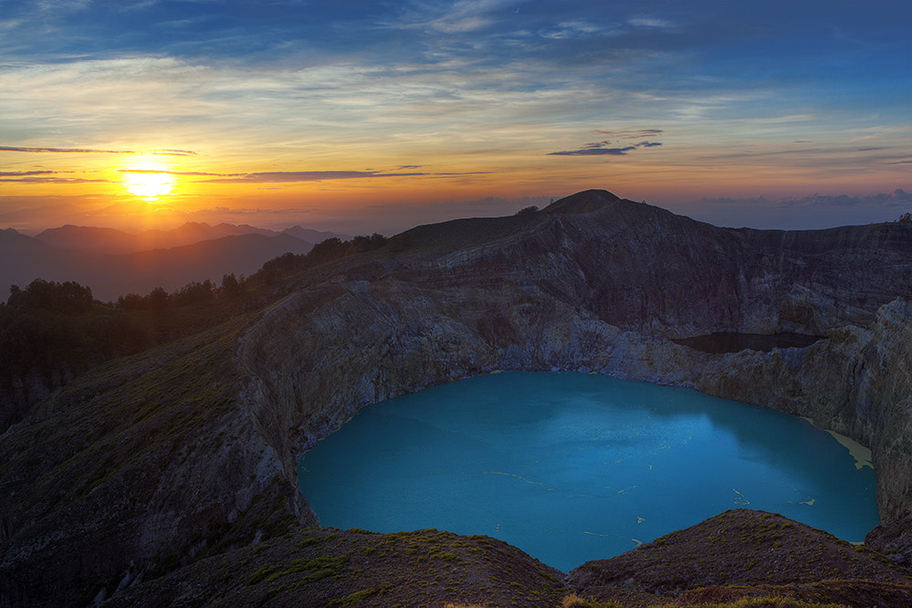 Photograph Kelimutu Sunrise by xflo : w on 500px