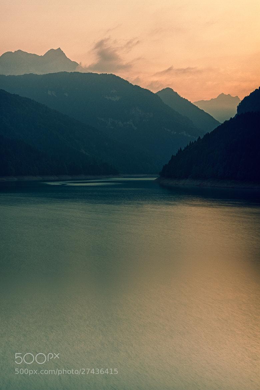 Photograph Sauris, the lake by Fabrizio Gallinaro on 500px
