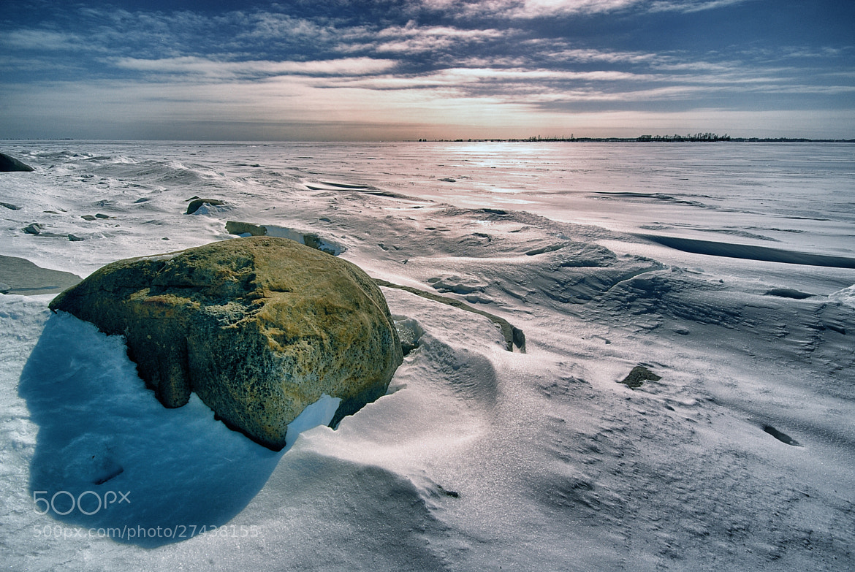 Photograph Frozen Beach & Lake Ontario by John Barker on 500px