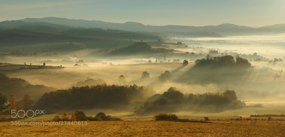 Photograph Autumn fog by Karol Nienartowicz on 500px