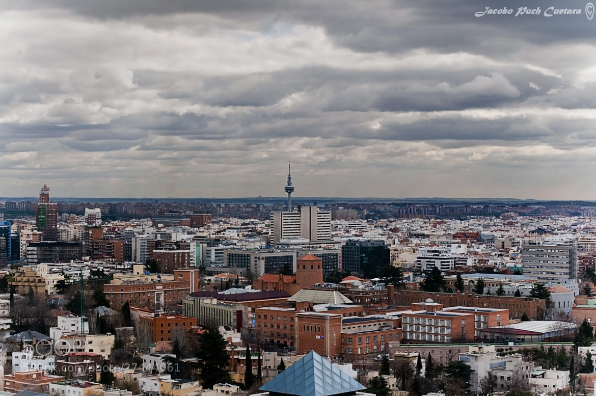 Photograph MADRID IN THE SKY by JACOBO PUCH on 500px