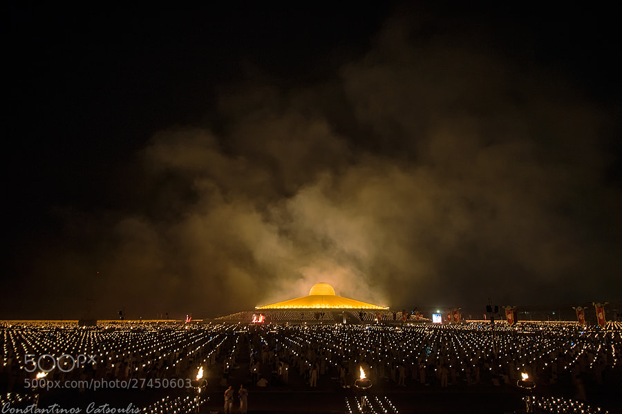 Photograph Dhammakaya Temple by Constantinos Catsoulis on 500px