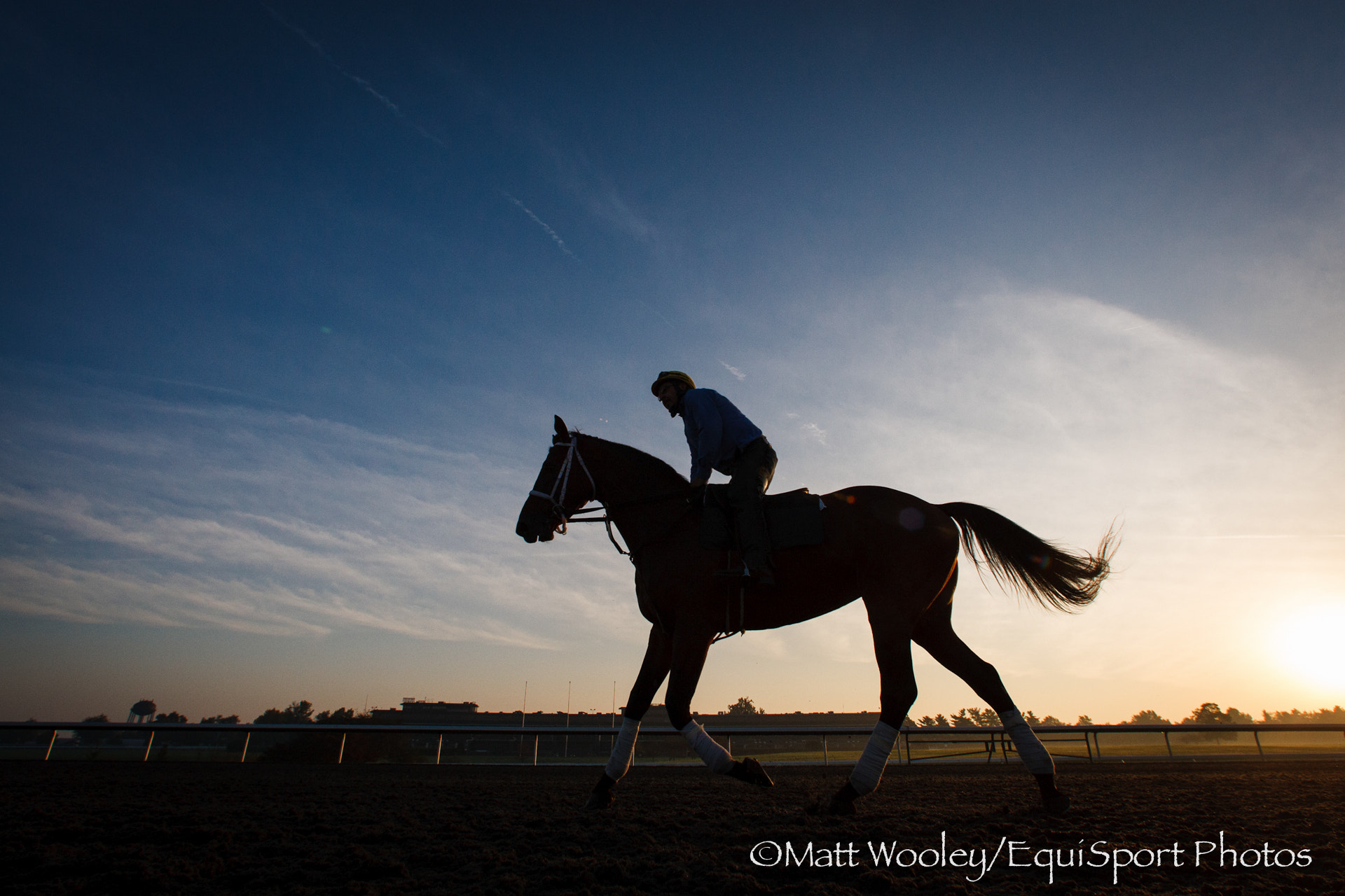 Photograph Keeneland Sunrise Gallop by EquiSport Photos on 500px
