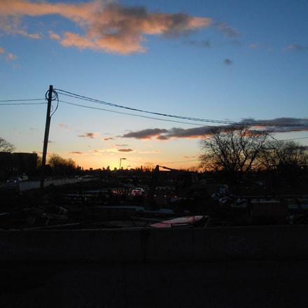 Sunset in Queens