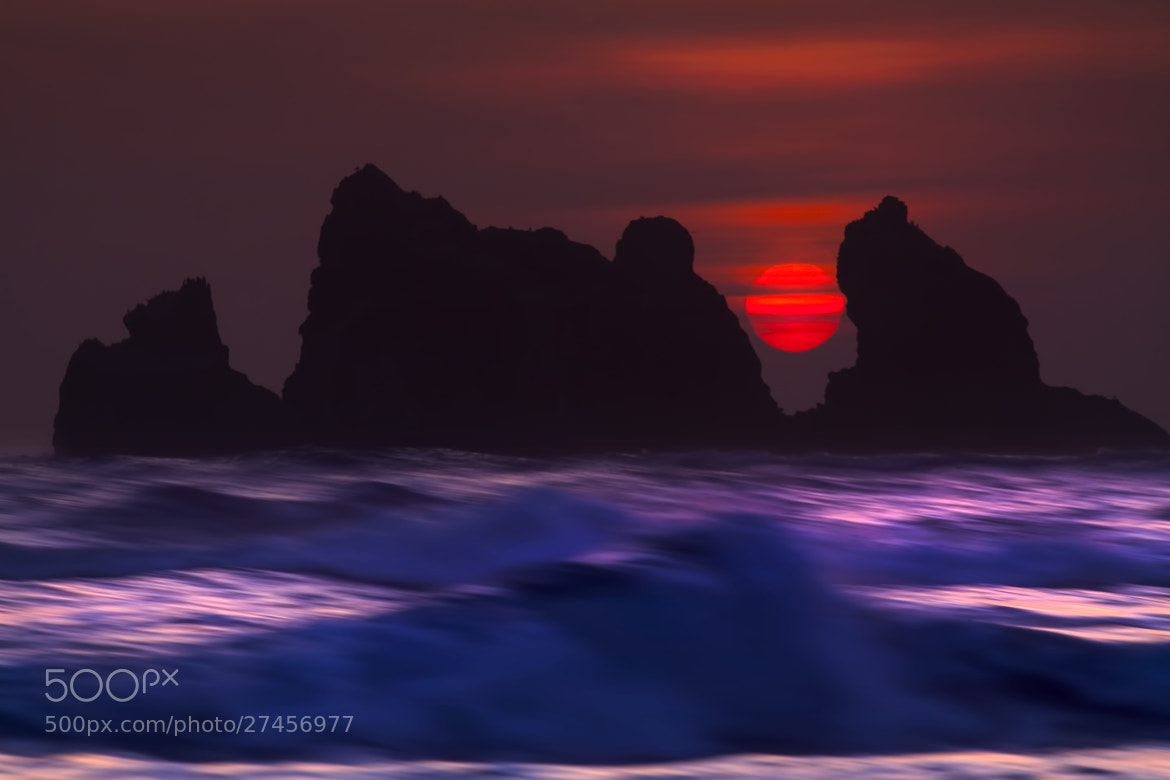 Photograph Red Sun by Mark Lissick on 500px