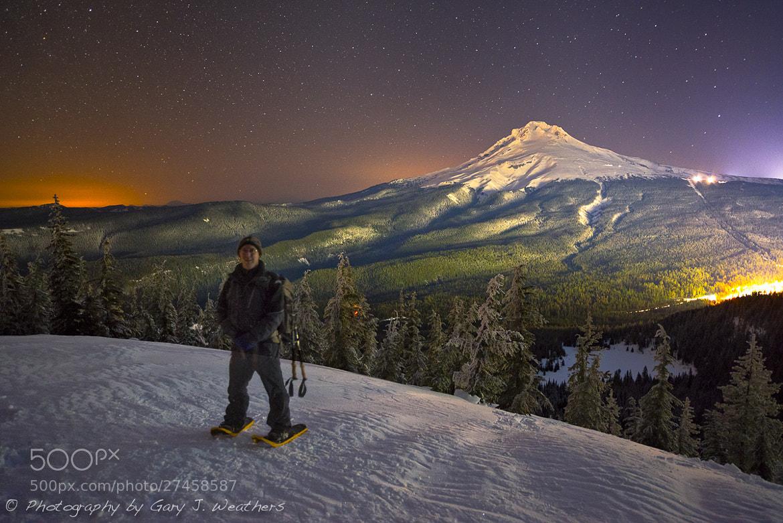 Photograph Self Portrait/ Mount Hood, Oregon. by Gary Weathers on 500px