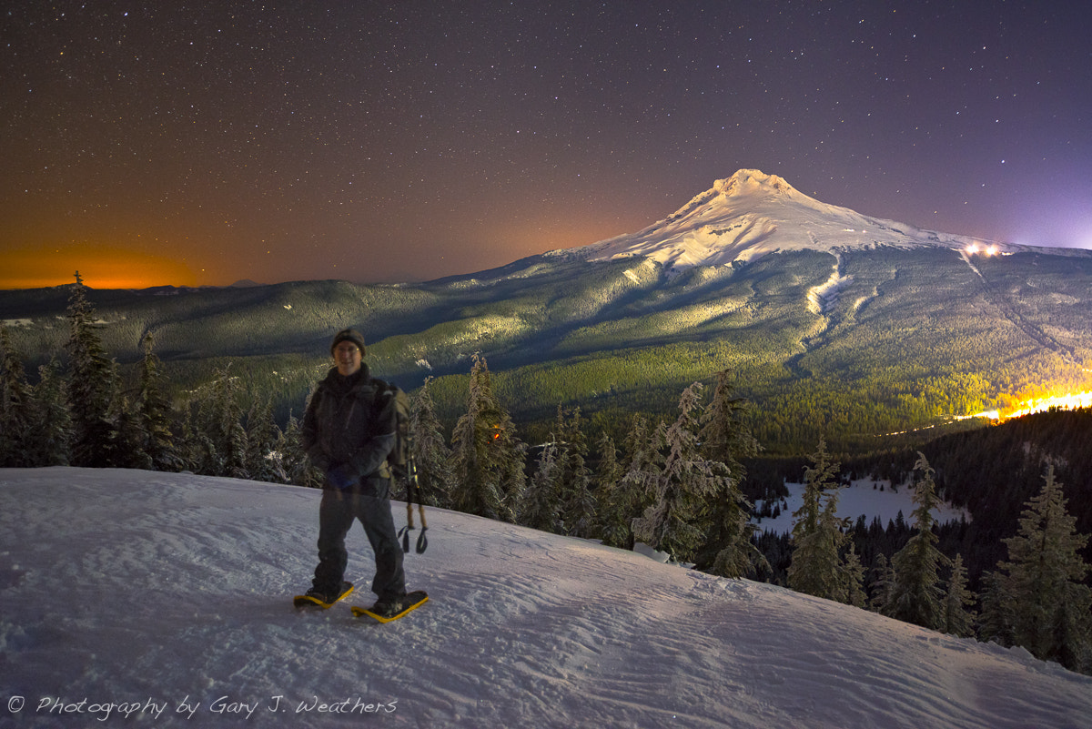 Photograph Self Portrait/ Mount Hood, Oregon. by Gary Weathers on 500px