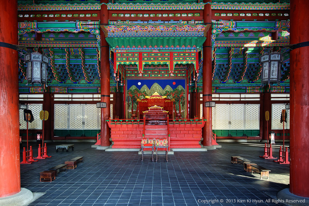Photograph The Throne of the CHOSUN by G. Nom on 500px