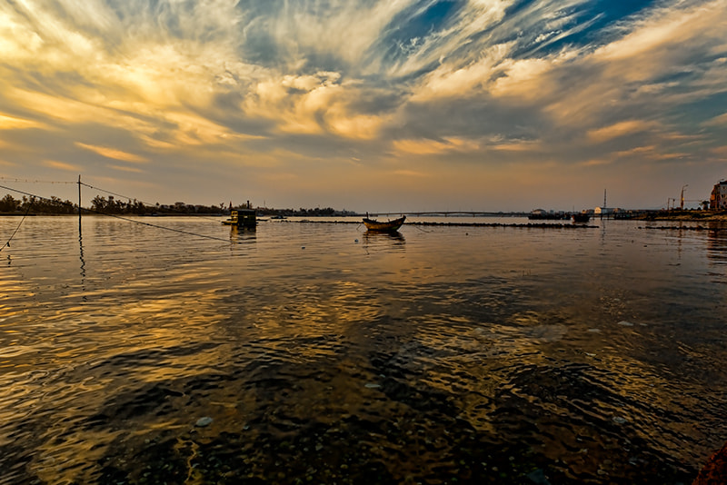 Photograph Sunrise over Dong Hoi                                                                                by Michel Latendresse on 500px