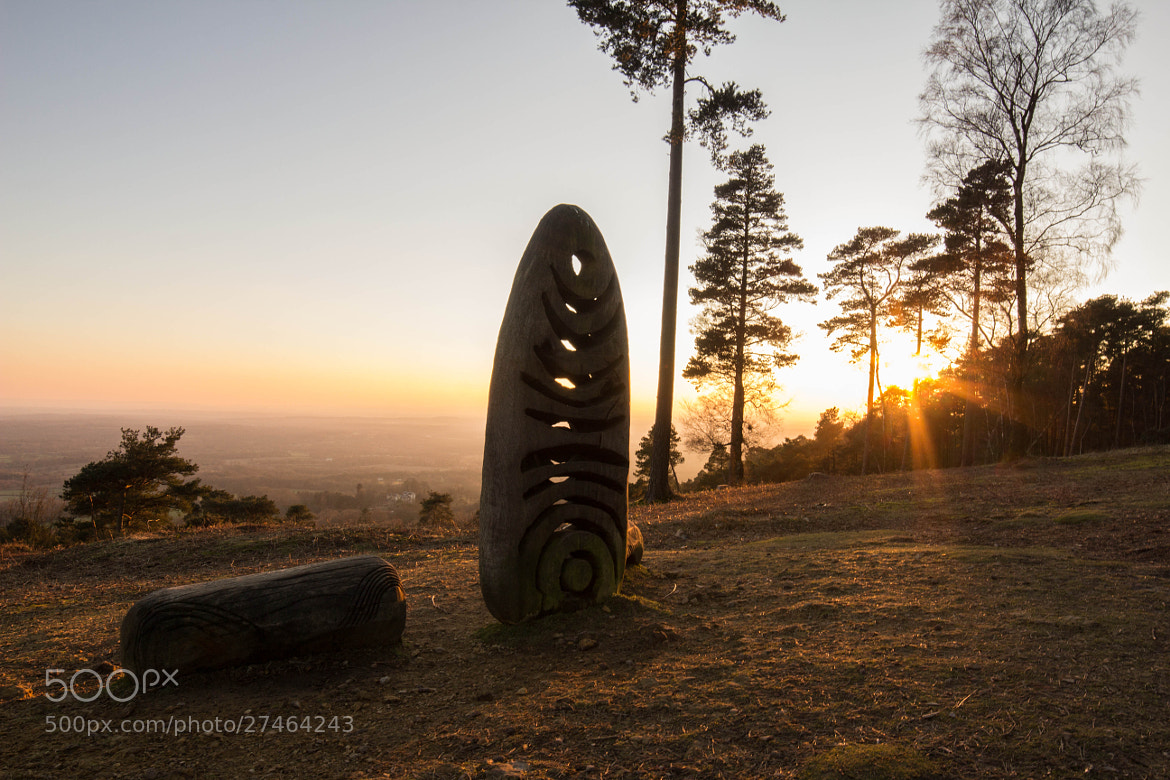 Photograph Sunset Statue by Dan James on 500px