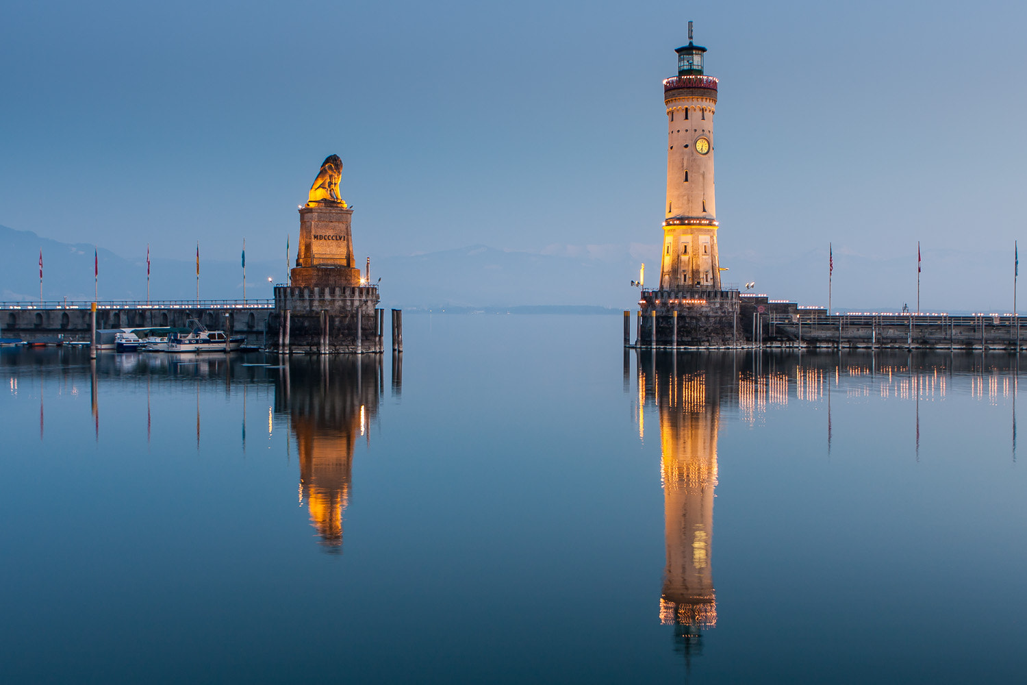 Photograph Harbour entrance of Lindau by Michael Backes on 500px