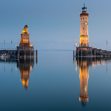 Harbour entrance of Lindau