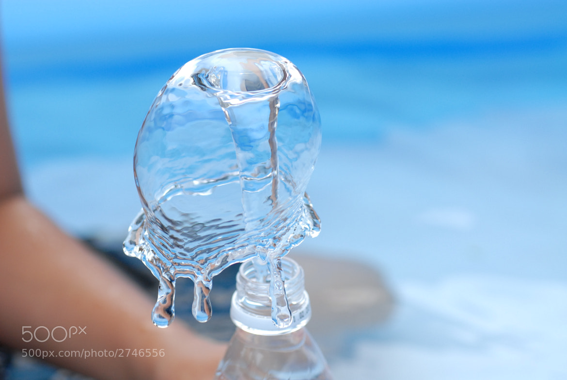 Photograph a jelly fish by Tedd Okano on 500px