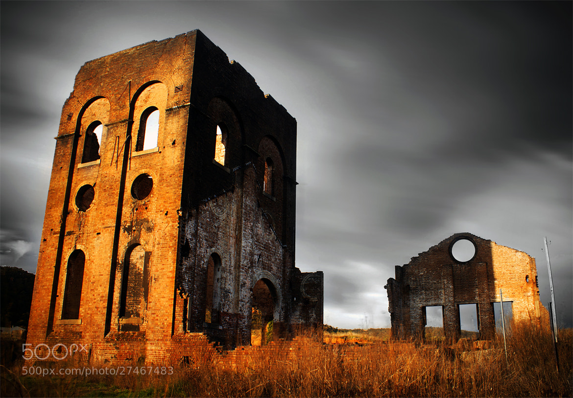 Photograph Blast Furnace Park || HISTORIC LITHGOW by Rhys Pope  on 500px