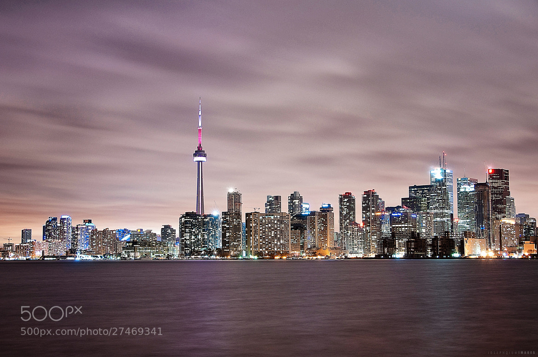 Photograph Purple Skyline by Joseph Qiu on 500px