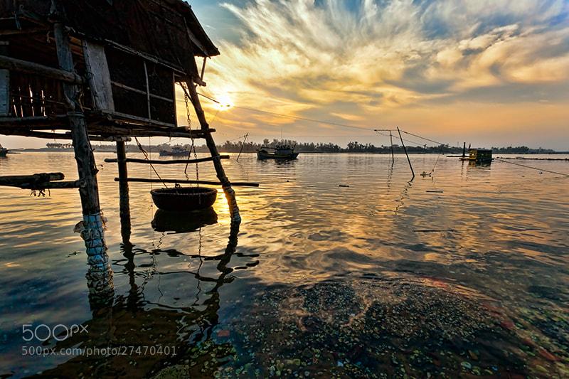 Photograph Sunrise Over Fishermen Village by Michel Latendresse on 500px