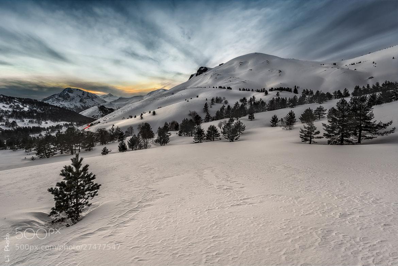 Photograph High Sunset by Javier de la Torre on 500px