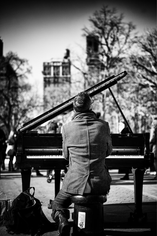 Photograph the piano by Vero Nick on 500px