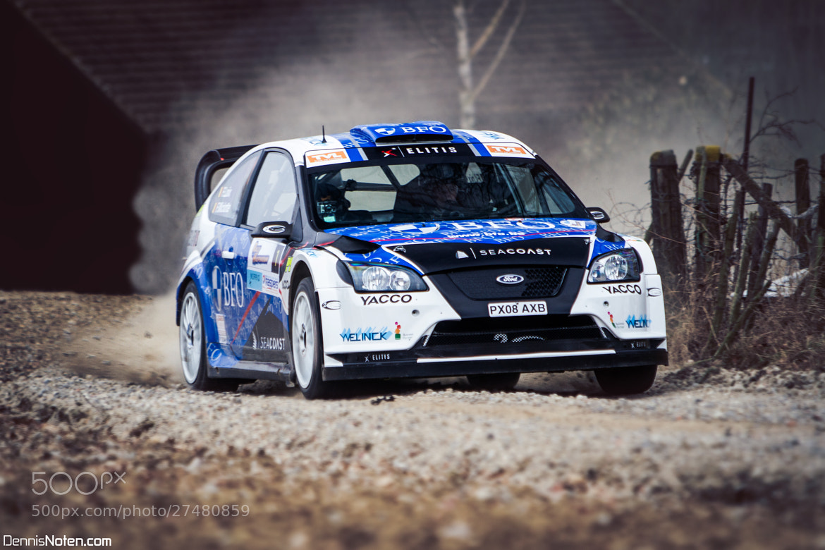 Photograph Ford Focus Rally Car by Dennis  Noten on 500px