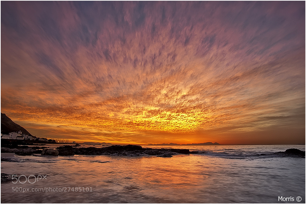 Photograph Fire in the sky by Dave Morris on 500px