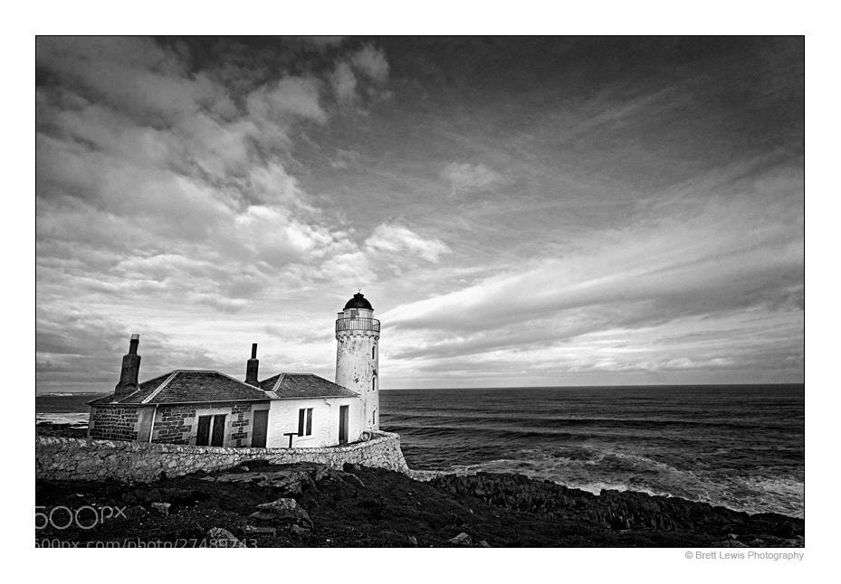 Photograph Isle of May Bird Observatory - Lighthouse by Brett Lewis on 500px