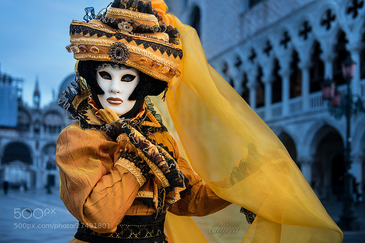 Photograph Portrait of a Mask by Manish Gajria on 500px